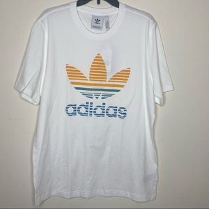 Adidas Originals Ombre Trefoil Graphic T-Shirt